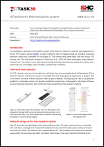 All polymeric thermosiphon system