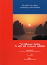 Thermal Energy Storage for Solar and Low Energy Buildings - State of the Art