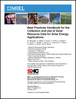 Best Practices Handbook for the Collection and Use of Solar Resource Data for Solar Energy Applications
