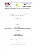 IEA SHC Task 49/IV - Deliverable A1 - Overheating prevention and stagnation handling in solar process heat applications