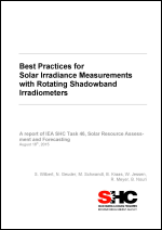 Best Practices for Solar Irradiance Measurements with Rotating Shadowband Radiometers