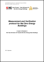 Measurement and Verification protocol for Net Zero Energy Buildings
