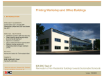 Printing Workshop and Office Building - Germany