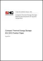 Position Paper: Compact Thermal Energy Storage: Material Development for System Integration